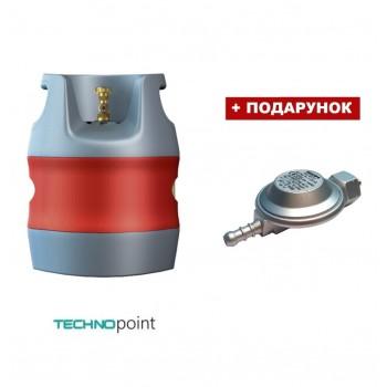 Композитный газовый баллон HPC Research 12,7 литра (Shell подключение)