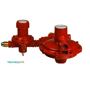 Комбинация регуляторов емкости GOK тип 052 PS 25 бар 24 кг/час 37 мбар