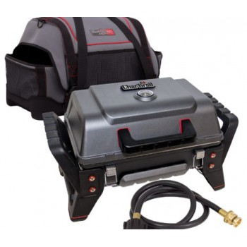Комплект Char-Broil Grill2Go X200 + сумка для гриля + шланг EN