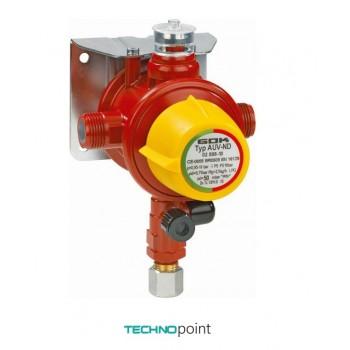 Автоматический переключающий клапан GOK AUV-ND 4 кг/год 29 мбар М20x1,5xAG G1/2 GF-адаптер
