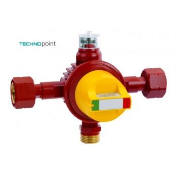 Автоматический переключающий клапан для баллонных установок AUV 6 кг / ч 1бар  2x GF x AG GF (1,2/0,5bar)