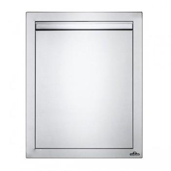 Встраиваемая дверь одностворчатая, малая 46х61 см
