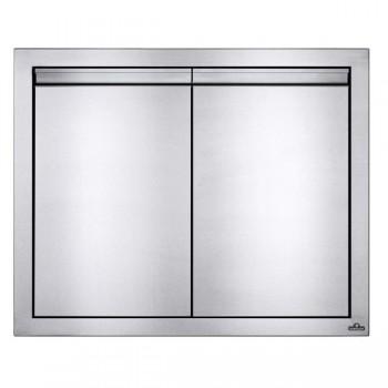 Встраиваемая дверь двустворчатая, малая 76х61 см