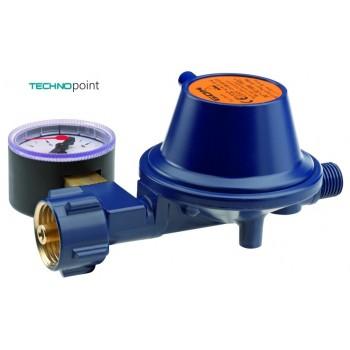 Регулятор GOK Marine Typ EN61 PS 16 bar низкого давления 50 мбар 1,5 кг/час с манометром.