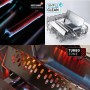 Газовый гриль Enders Kansas Black 3 K Turbo + ФАРТУК Enders (F1) и набор принадлежностей для гриля (8753) АКЦИЯ