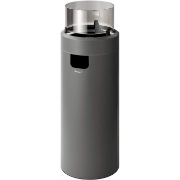 Газовый уличный камин Enders NOVA LED L grey/black, 50 мбар (2,5 кВт)