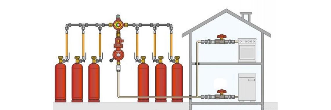 Установки автономного газоснабжения