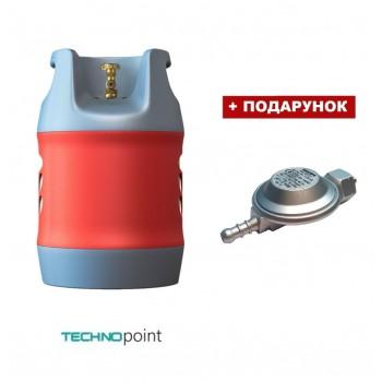 Композитный газовый баллон HPC Research 18,2 литра (Shell подключение)