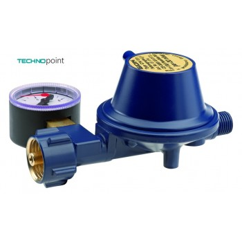 Регулятор GOK Marine низкого давления 29 (30) мбар 1,5 кг/ч 01 114 40 с манометром