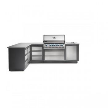 Конфигурация летней модульной кухни Napoleon Oasis-300