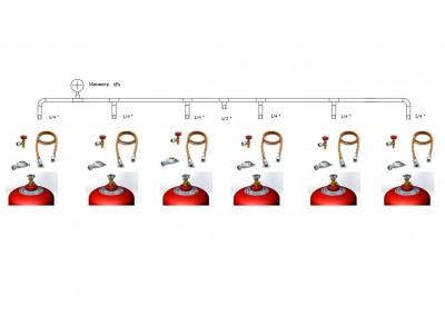 Рампа для газовых баллонов