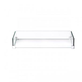 Защитное стекло от ветра для газового стола-камина Hampton 1