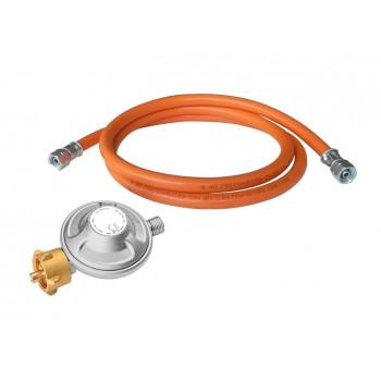 Регулятор газа (редуктор) и шланг (50 мбар)