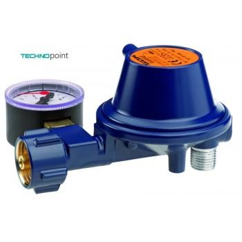 Регулятор GOK Marine Typ EN61 PS 16 bar низкого давления с манометром 29 (30) мбар 0,8 кг/ч 01 113 45