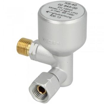 Предохранительный клапан при опрокидывании GOK KS-40 G1/4LH UEM x G1/4LH-KN тип KS-40